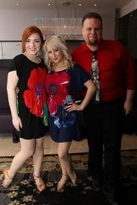 Daniella, Lindsay and Gary